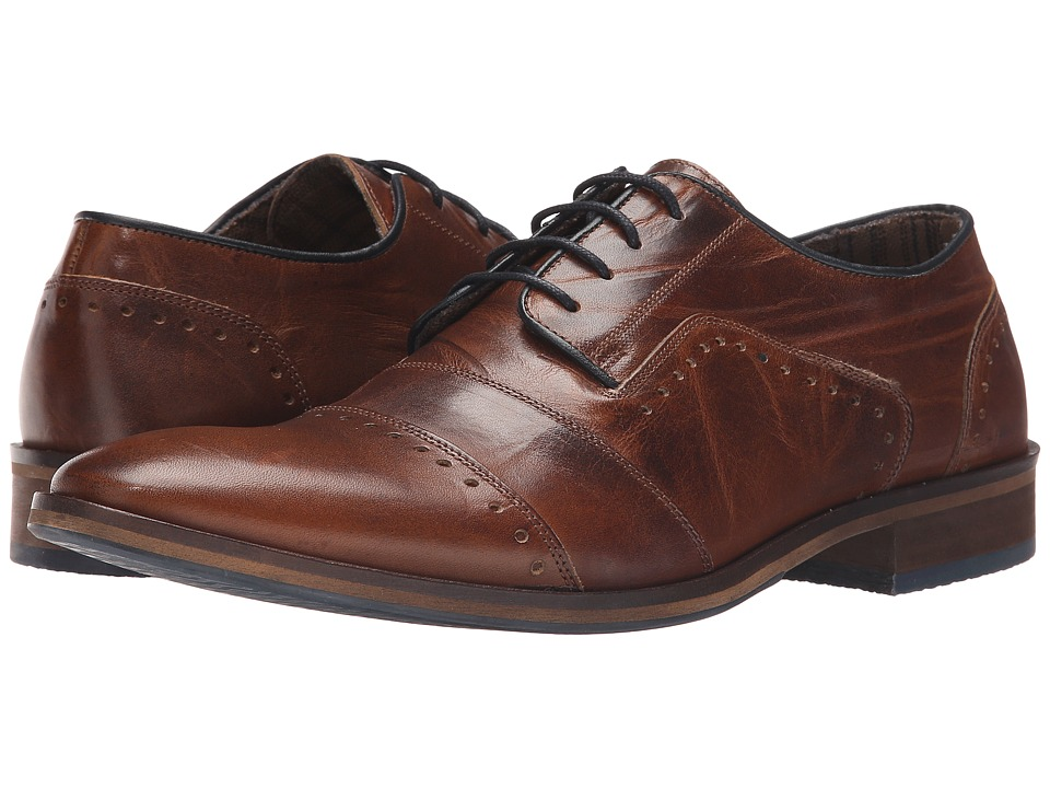 Dune London - Boycy (Tan Leather) Men's Shoes