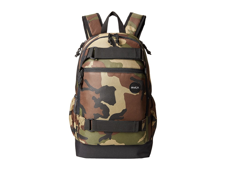 RVCA - Push Skate Backpack (Camo) Backpack Bags