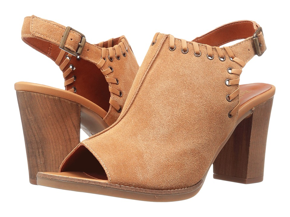 Bella-Vita Ora-Italy (Tan Italian Suede Leather) High Heels