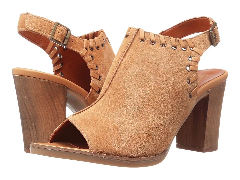Bella-Vita Ora-Italy (Tan Italian Suede Leather) High Heels