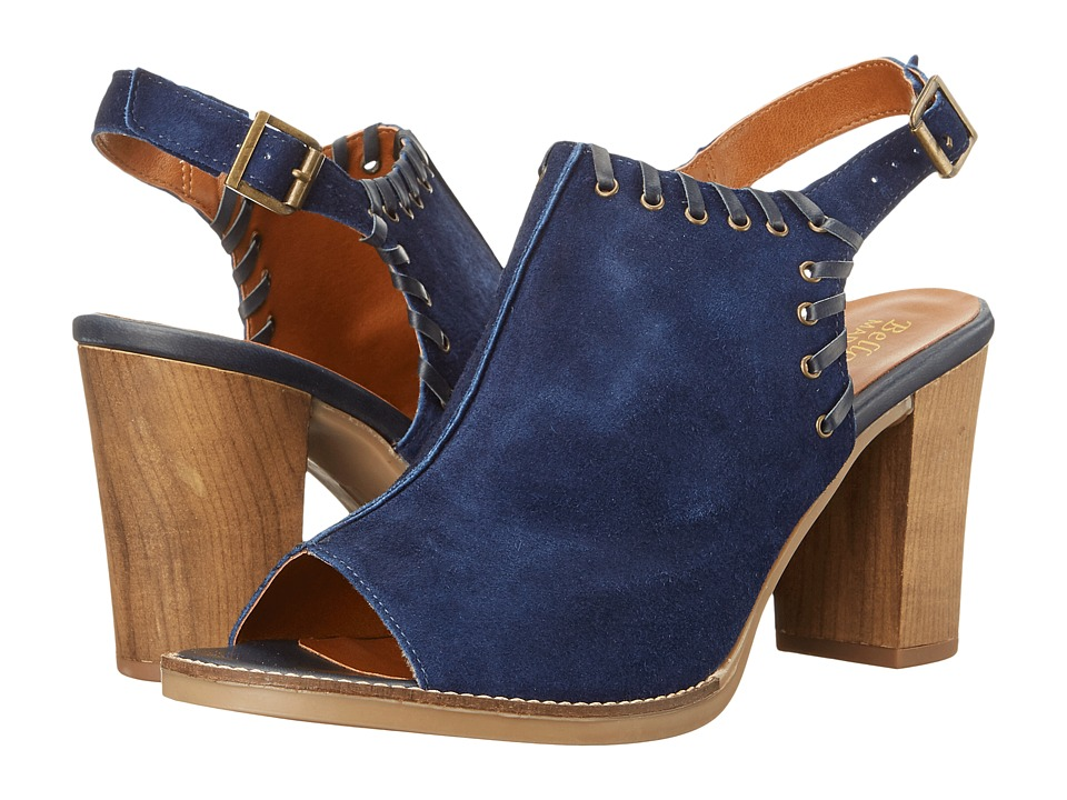 Bella-Vita Ora-Italy (Navy Italian Suede Leather) High Heels