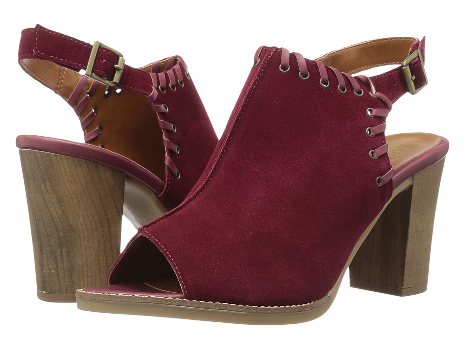 Bella-Vita Ora-Italy (Bordeaux Italian Suede Leather) High Heels