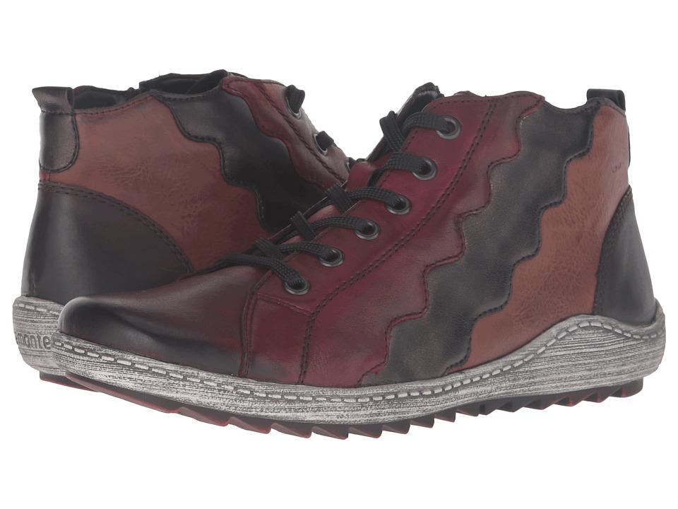 Rieker - R1474 Liv 74 (Vino/Antik/Chestnut/Havanna) Women's Boots