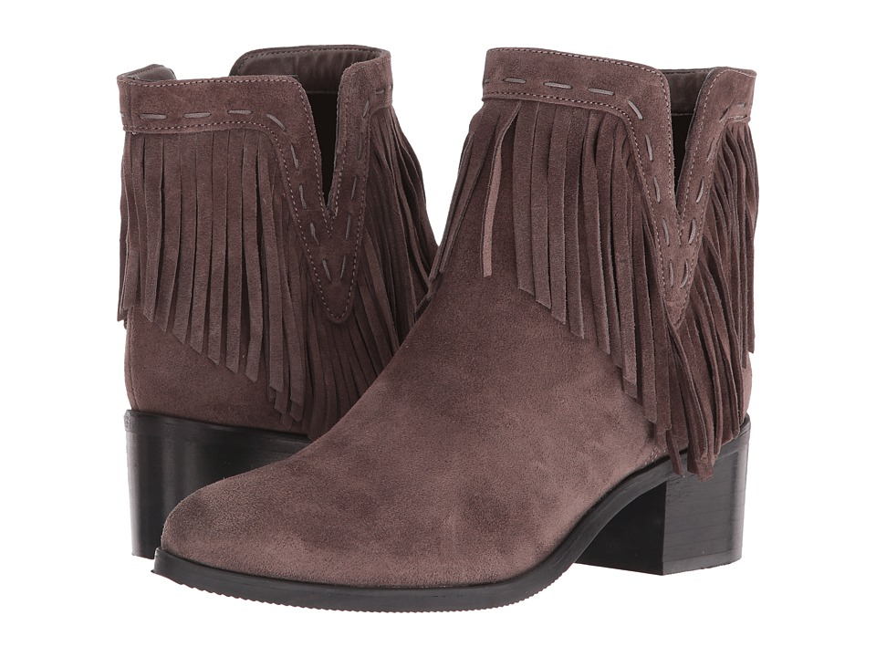 Bella-Vita - Tex-Italy (Grey Italian Suede) Women's Pull-on Boots