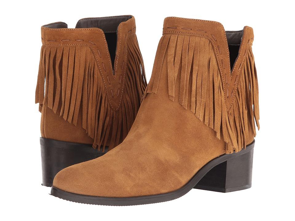 Bella-Vita - Tex-Italy (Tan Italian Suede) Women's Pull-on Boots