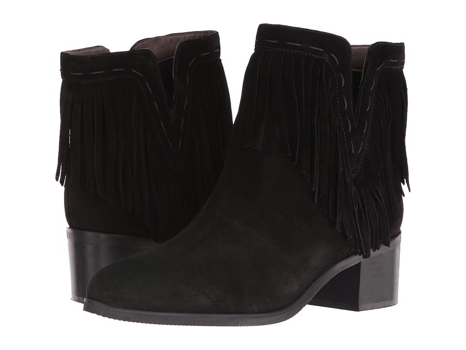 Bella-Vita - Tex-Italy (Black Italian Suede) Women's Pull-on Boots