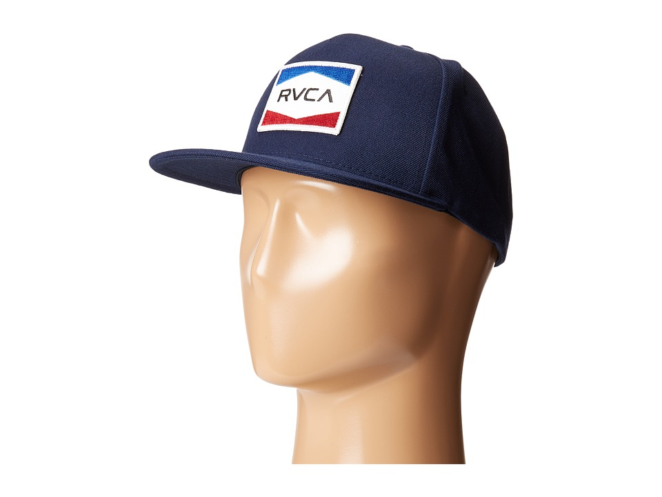 RVCA - Nations Snapback (Navy) Caps