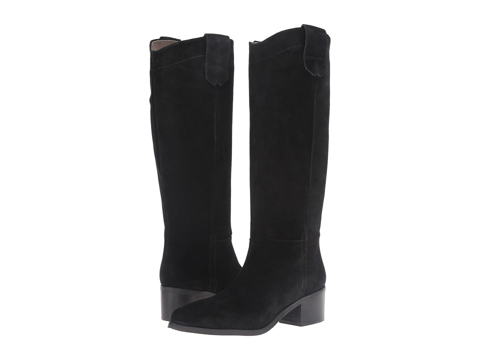 Bella-Vita - Gia-Italy (Black Italian Suede) Women's Pull-on Boots