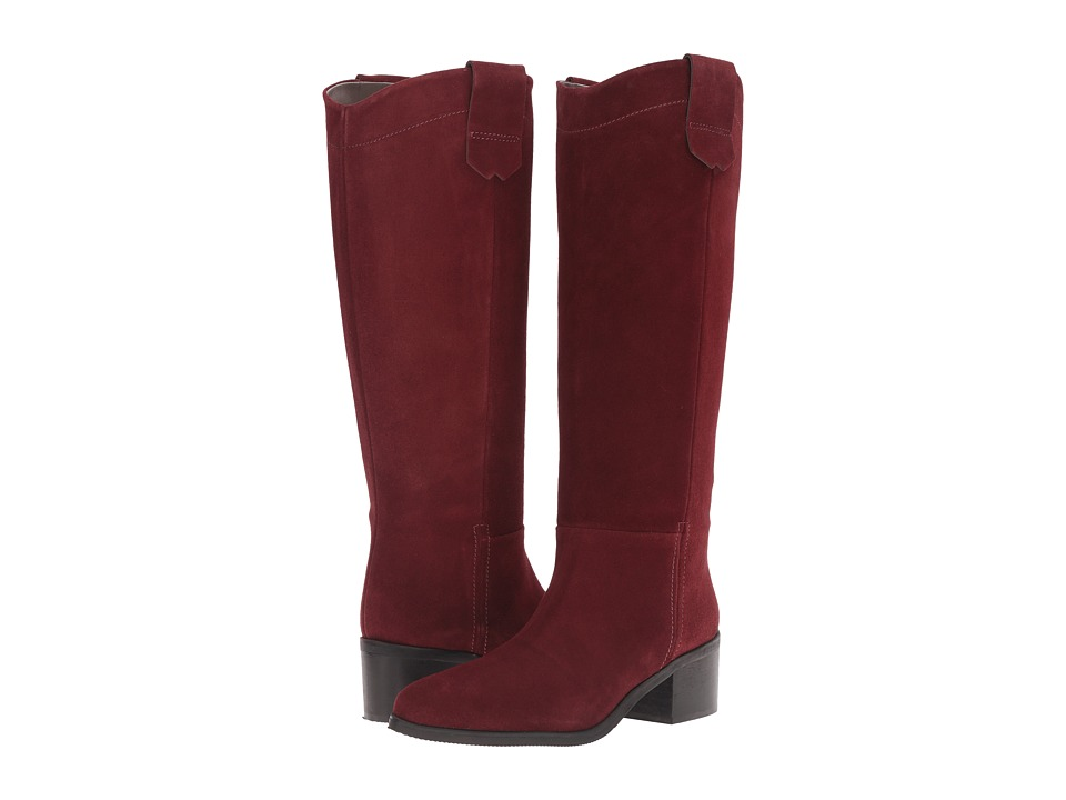 Bella-Vita - Gia-Italy (Bordeaux Italian Suede) Women's Pull-on Boots