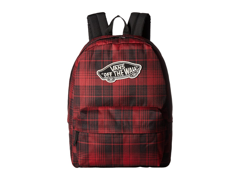 Vans - Realm Backpack (Red Dahlia) Backpack Bags