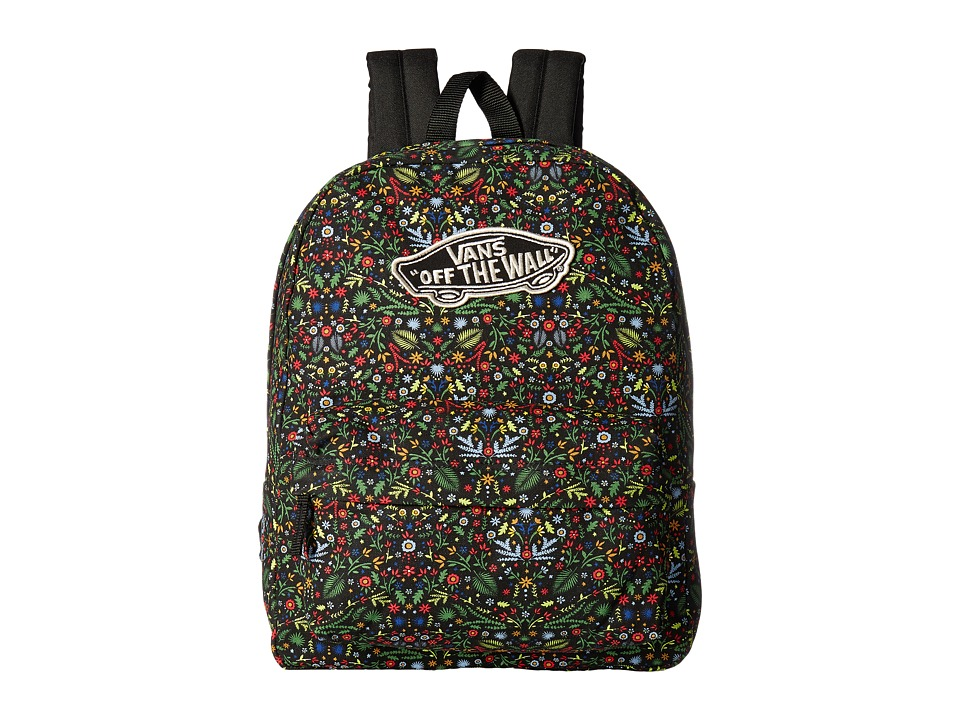 Vans - Realm Backpack (Flora) Backpack Bags