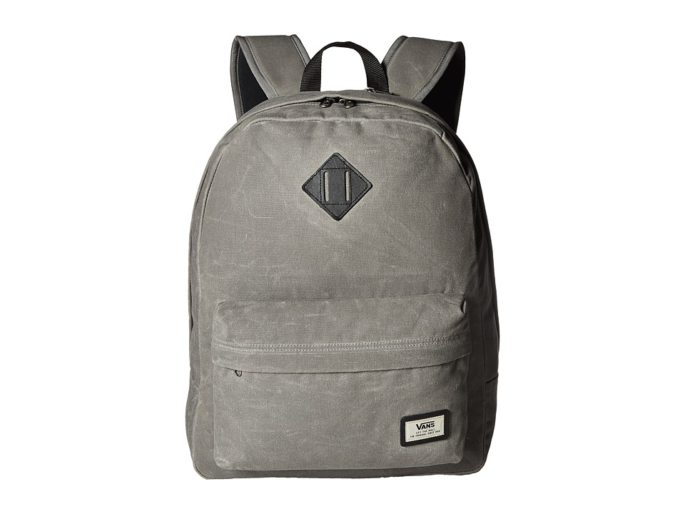Vans - Old Skool Plus Backpack (Pewter) Backpack Bags