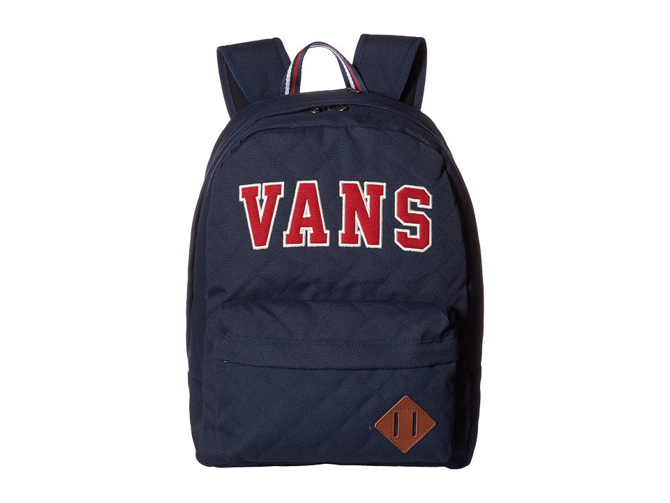 Vans Old Skool Plus Backpack (Dress Blues/Chili Pepper) Backpack Bags