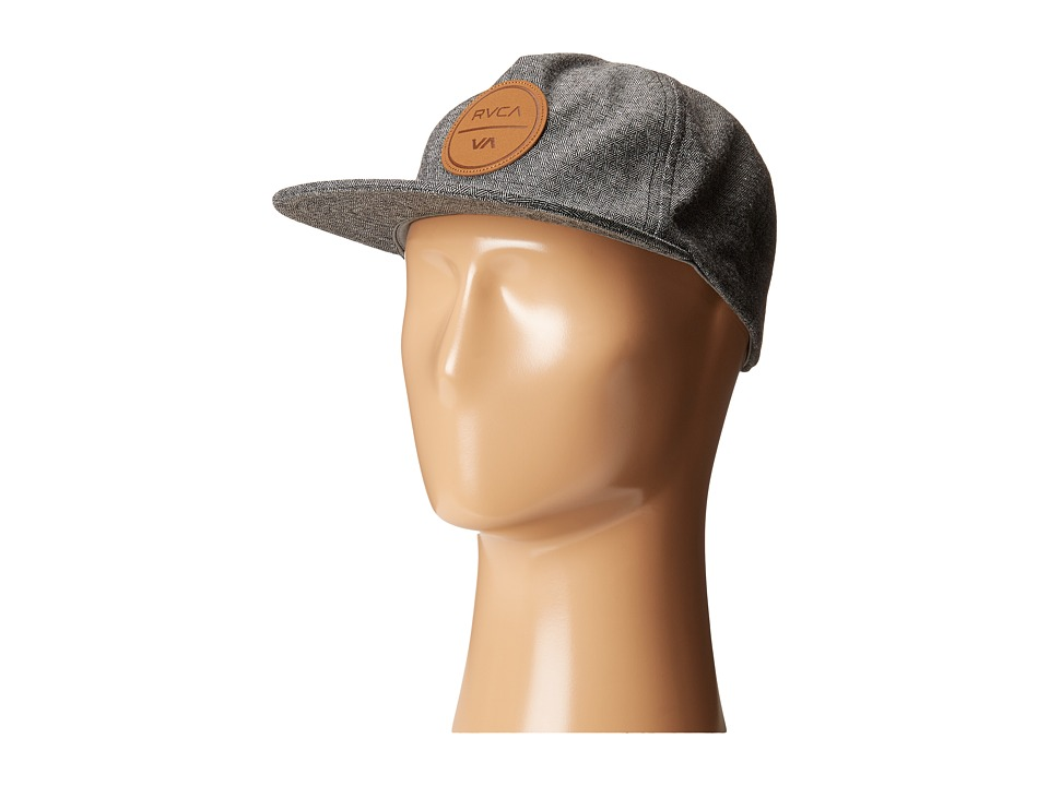 RVCA - Coastal Five Panel (Grey) Caps