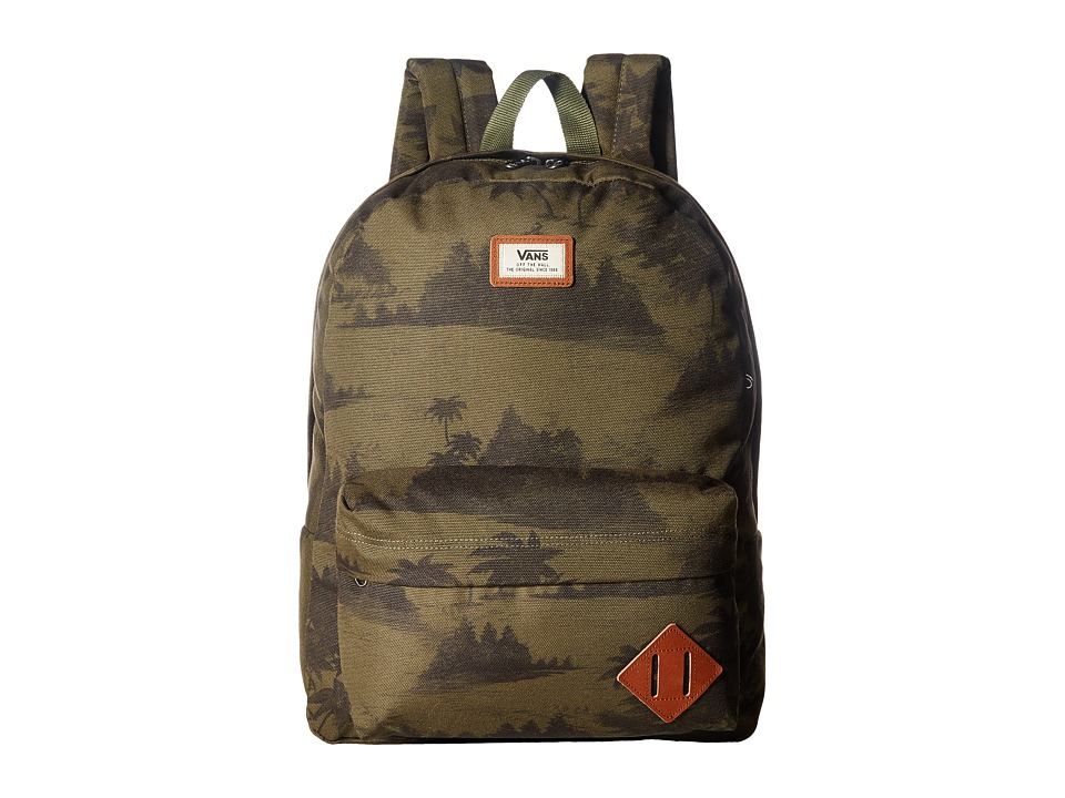 Vans - Old Skool II Backpack (Tahoe Floral) Backpack Bags