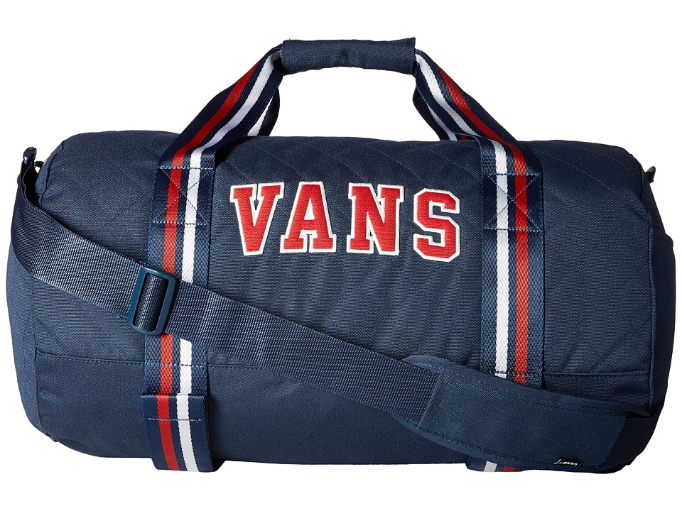 Vans - Anacapa II Duffel (Dress Blues/Chili Pepper) Duffel Bags