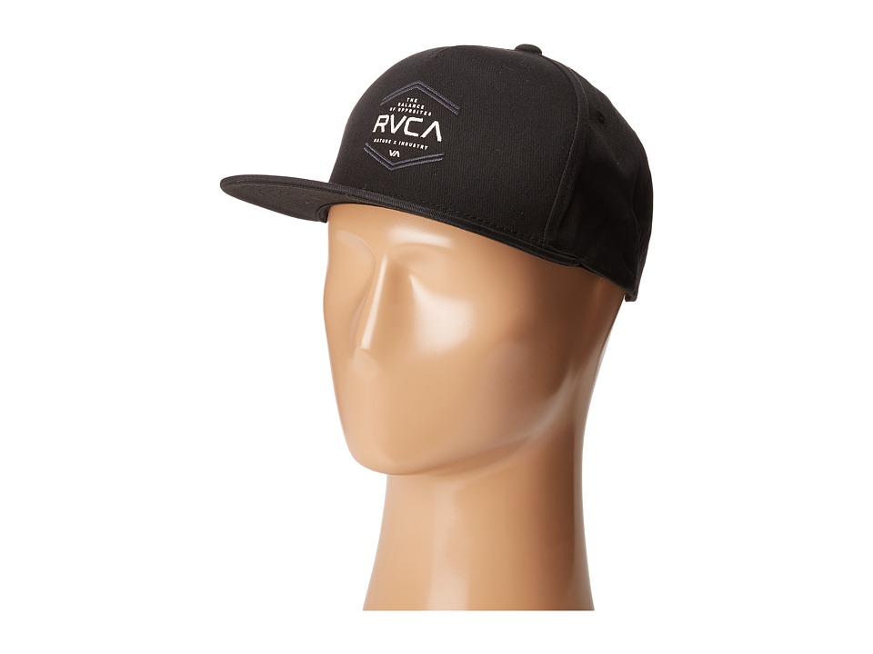 RVCA - In The Cut Snapback (Black) Caps