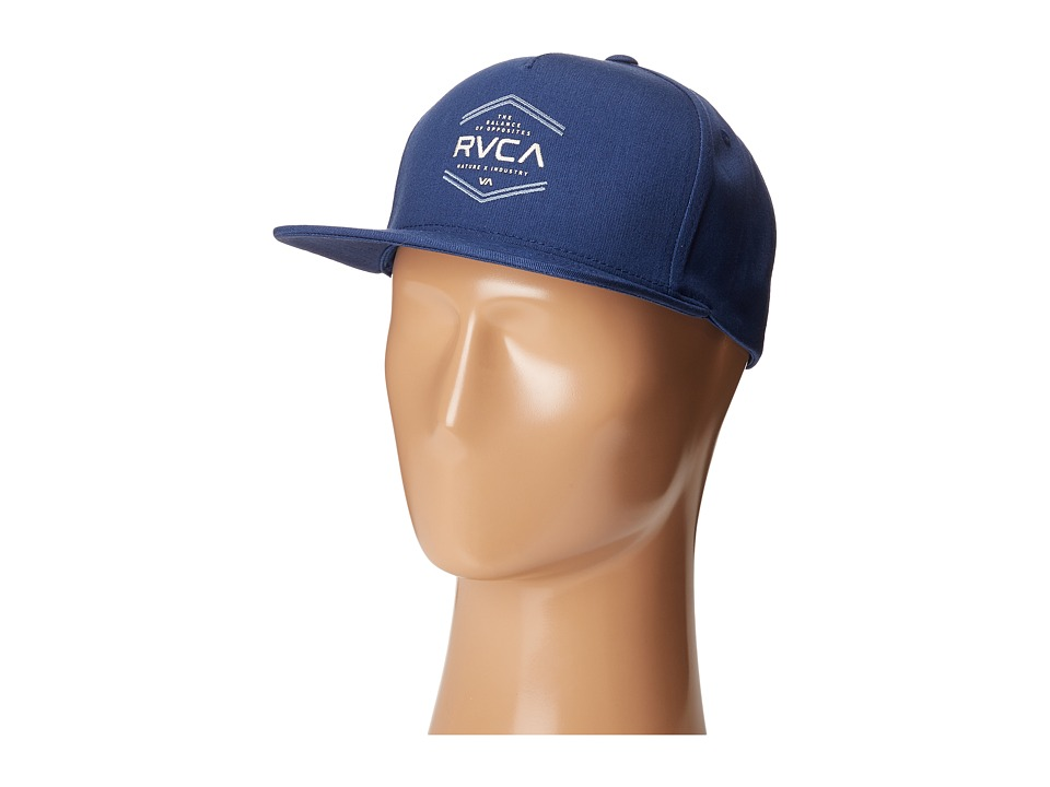 RVCA - In The Cut Snapback (Navy) Caps