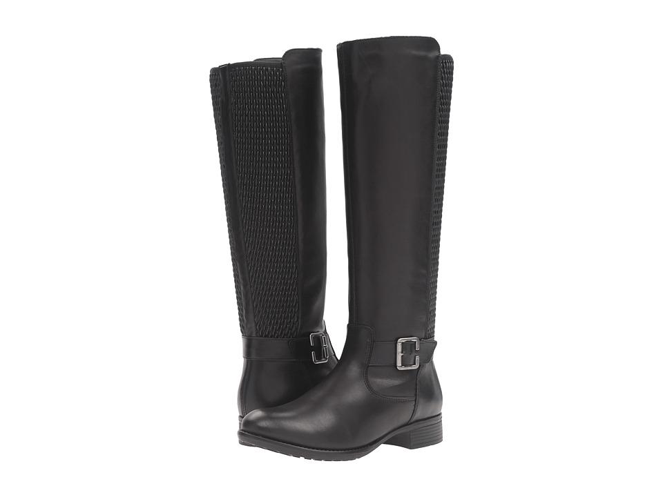 Rieker - R6455 Estefania 55 (Black/Black/Black) Women's Boots