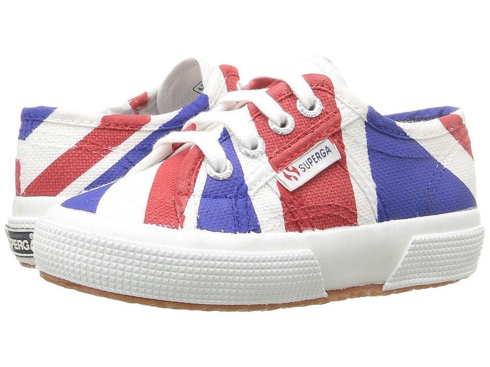 Superga Kids - 2750 COTJ FLAG (United Kingdom) Kid's Shoes