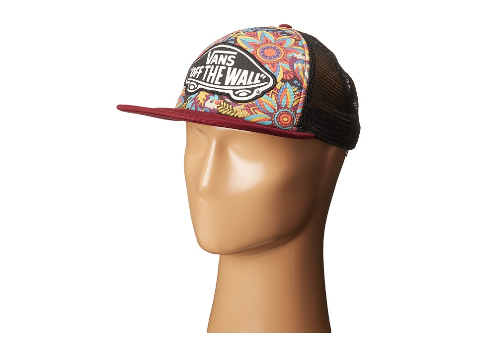 Vans - Beach Girl Trucker Hat (Bird Floral) Caps