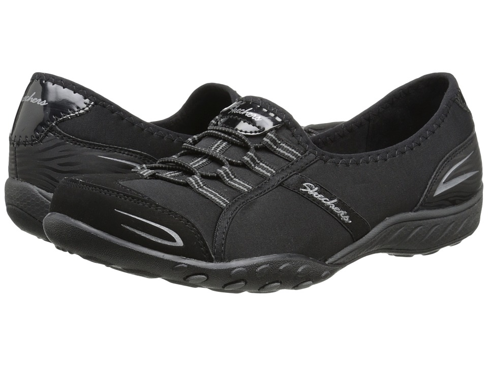 SKECHERS - Active Breathe Easy - Good Life (Black) Women's Shoes