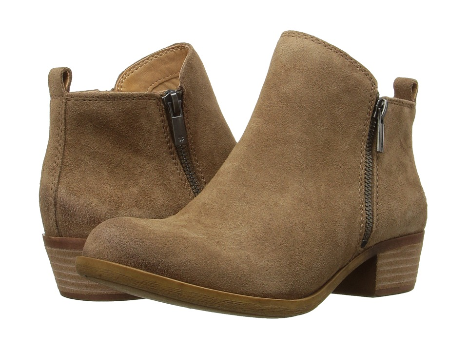 Lucky Brand - Basel (Sesame) Women's Zip Boots