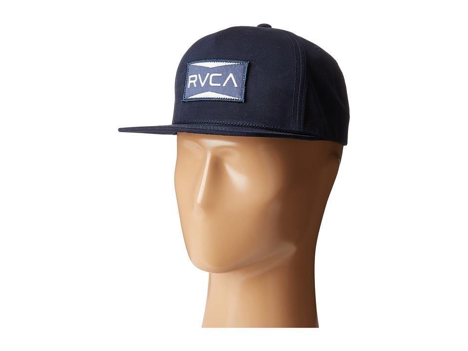 RVCA - Directors Snapback (Navy) Caps