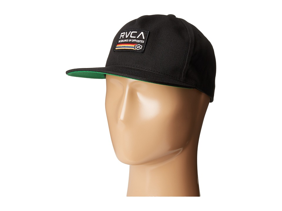RVCA - Mechanics Snapback (Black) Caps