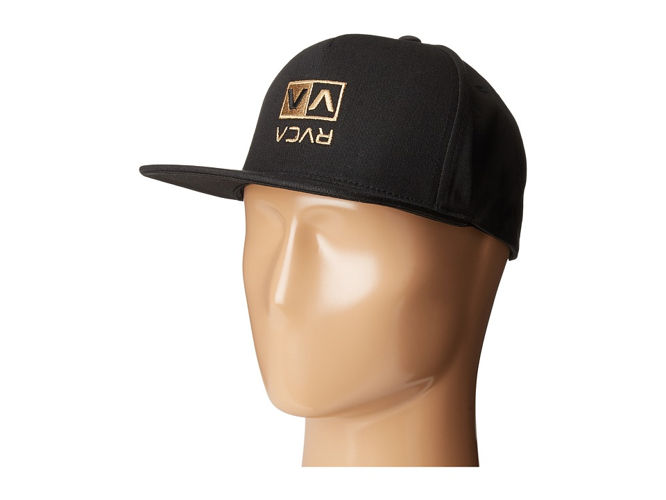 RVCA - Upside Snapback (Black) Caps