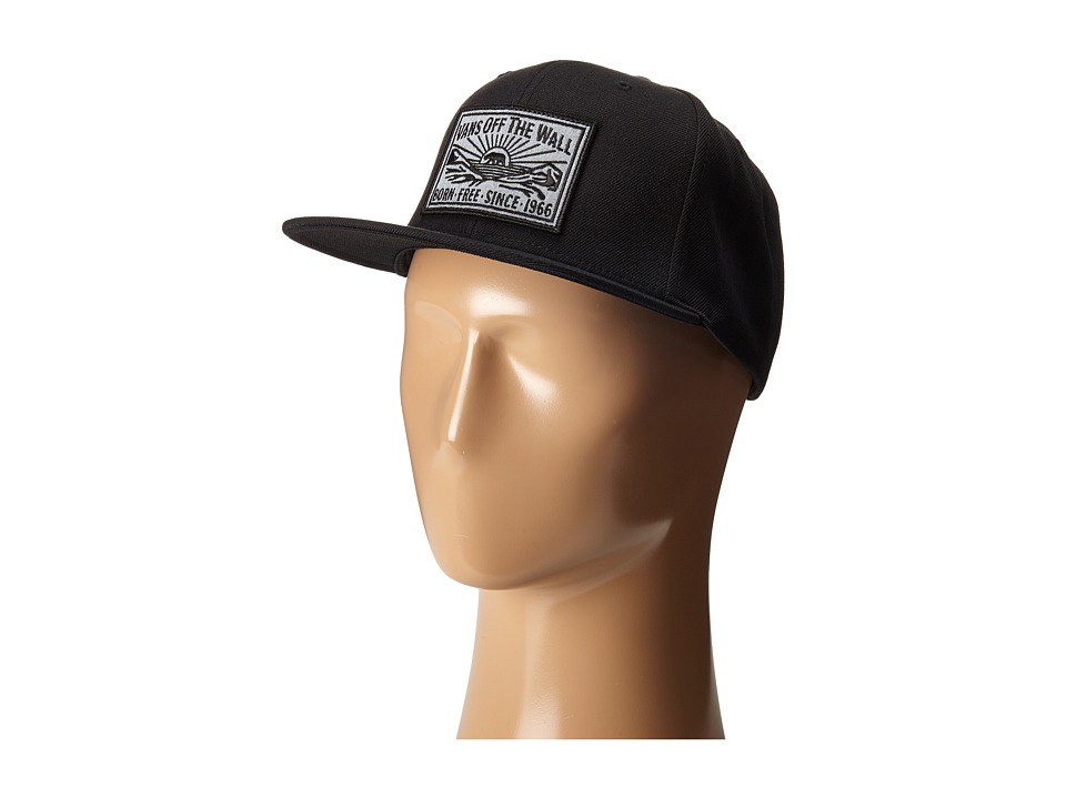 Vans - Oakdale Snapback (Black/Heather Grey) Caps