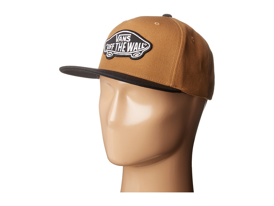 Vans - Classic Patch Snapback Hat (Rubber/Black) Caps