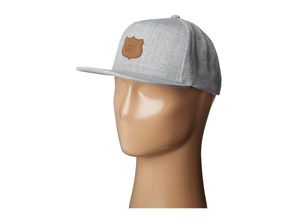 Vans - GR Snapback Hat (Heather Grey) Caps