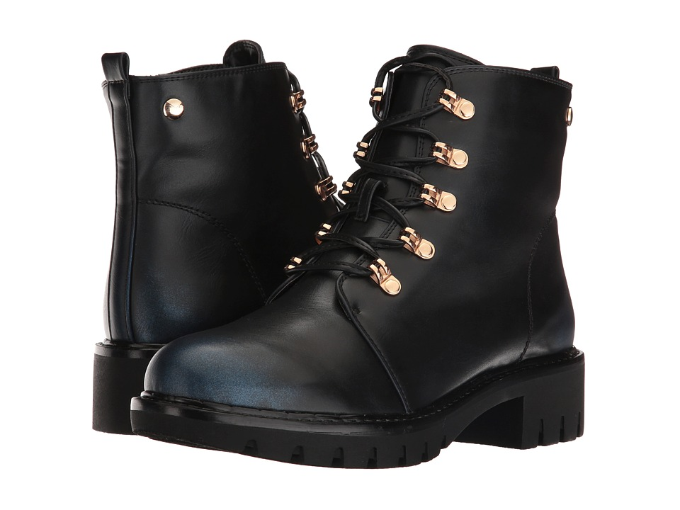 Spring Step - Sarik (Navy) Women's Lace-up Boots