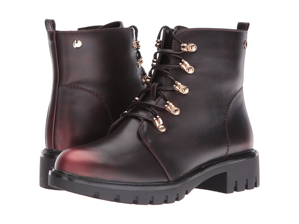 Spring Step - Sarik (Bordeaux) Women's Lace-up Boots