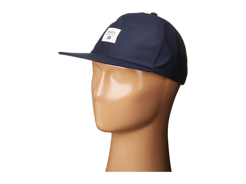 RVCA - Detour Snapback (Navy) Caps