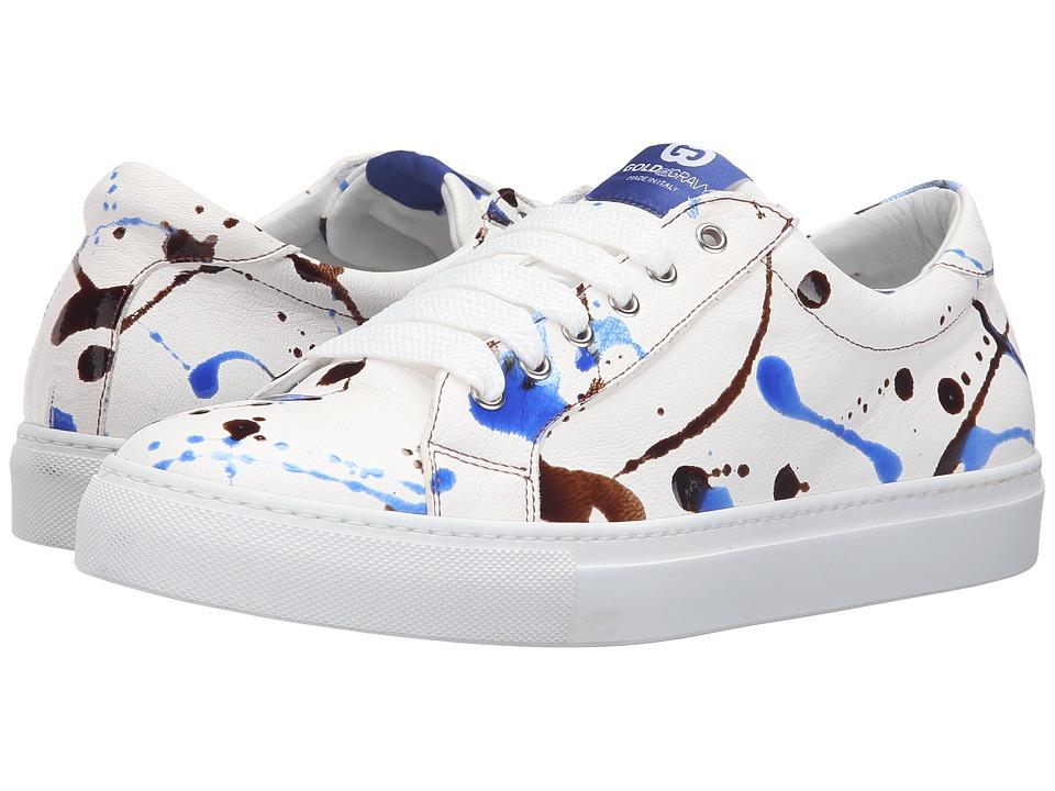 Gold & Gravy - Downtown (Blue Paint) Men's Shoes