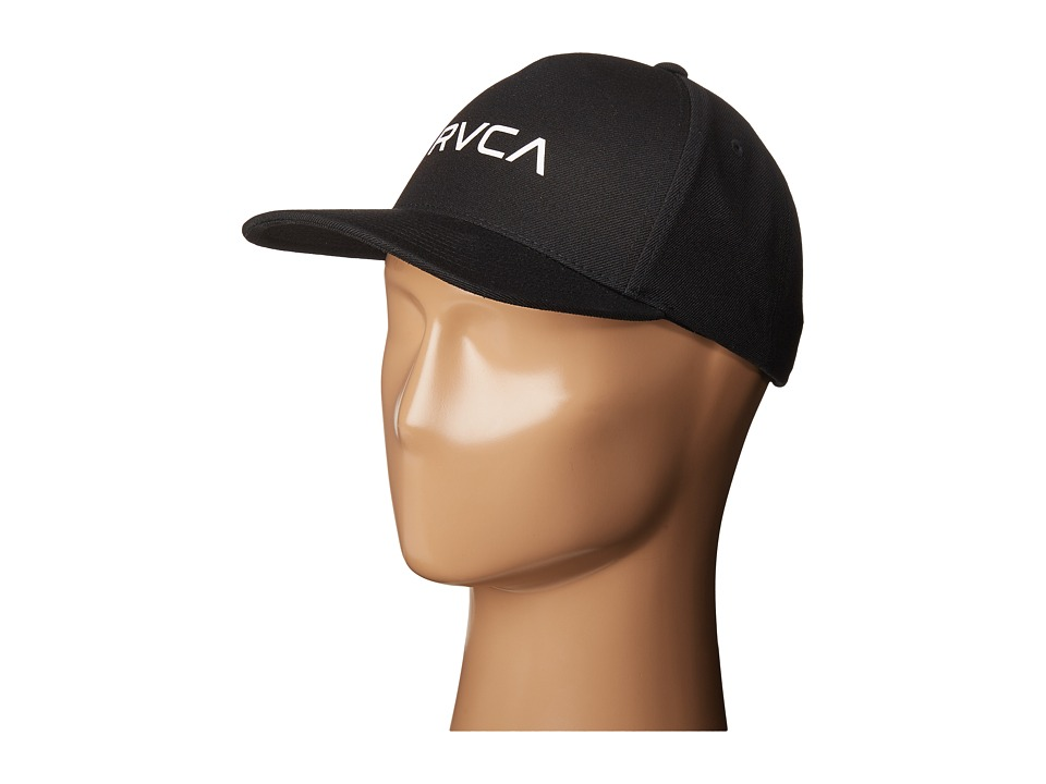 RVCA - Curved Bill Snapback (Black) Caps
