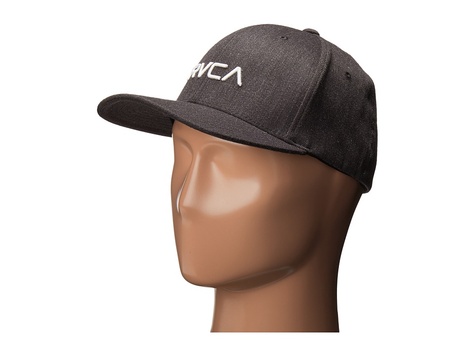 RVCA - Flex Fit (Charcoal Grey) Caps