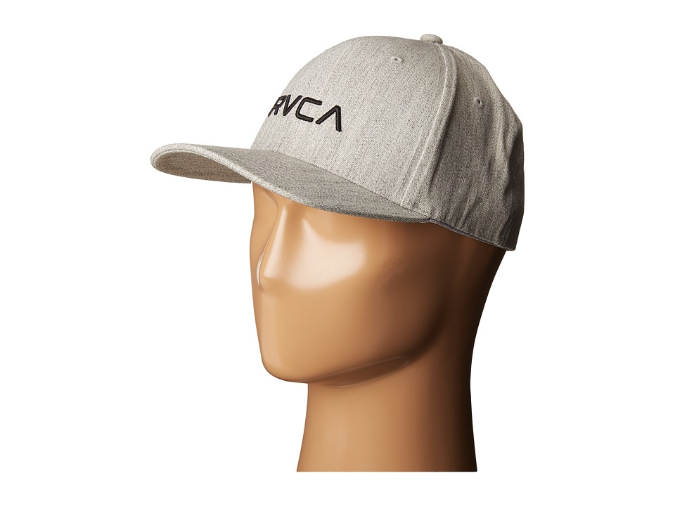 RVCA - Flex Fit (Heather Grey) Caps