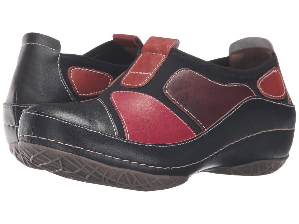 Spring Step - Jolanda (Black) Women's Clog Shoes