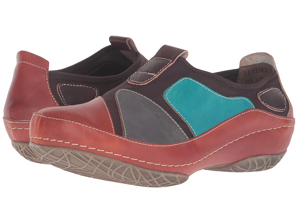 Spring Step - Jolanda (Camel) Women's Clog Shoes