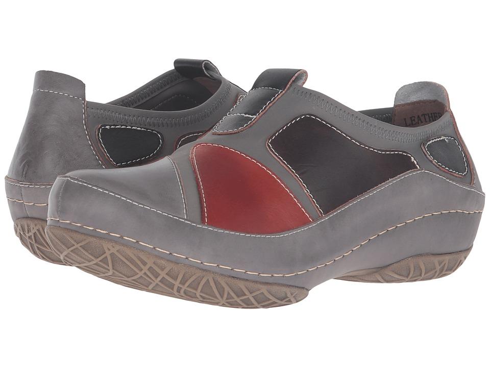 Spring Step - Jolanda (Grey) Women's Clog Shoes