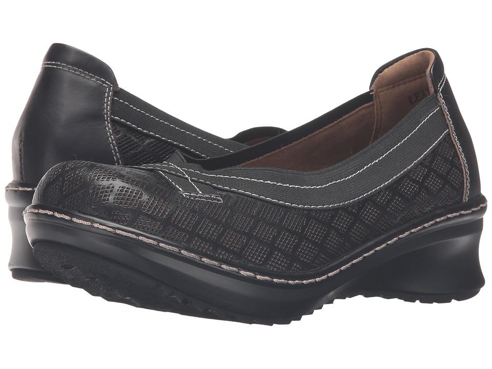 Spring Step - Jute (Black) Women's Slip on Shoes