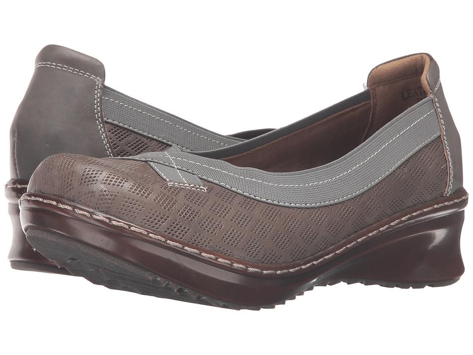 Spring Step - Jute (Grey) Women's Slip on Shoes