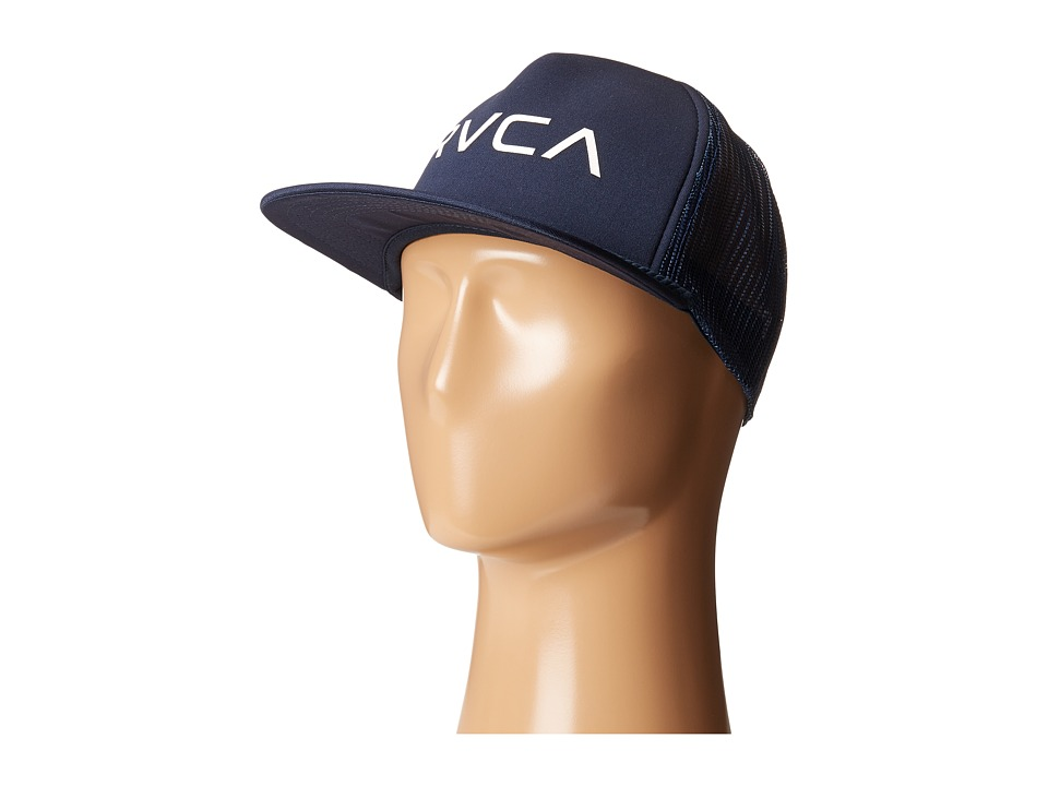 RVCA - Foamy Trucker (Navy) Caps