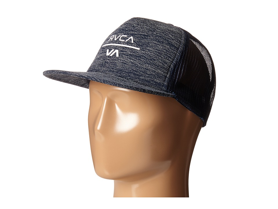RVCA - VA Trucker (Navy Heather) Caps