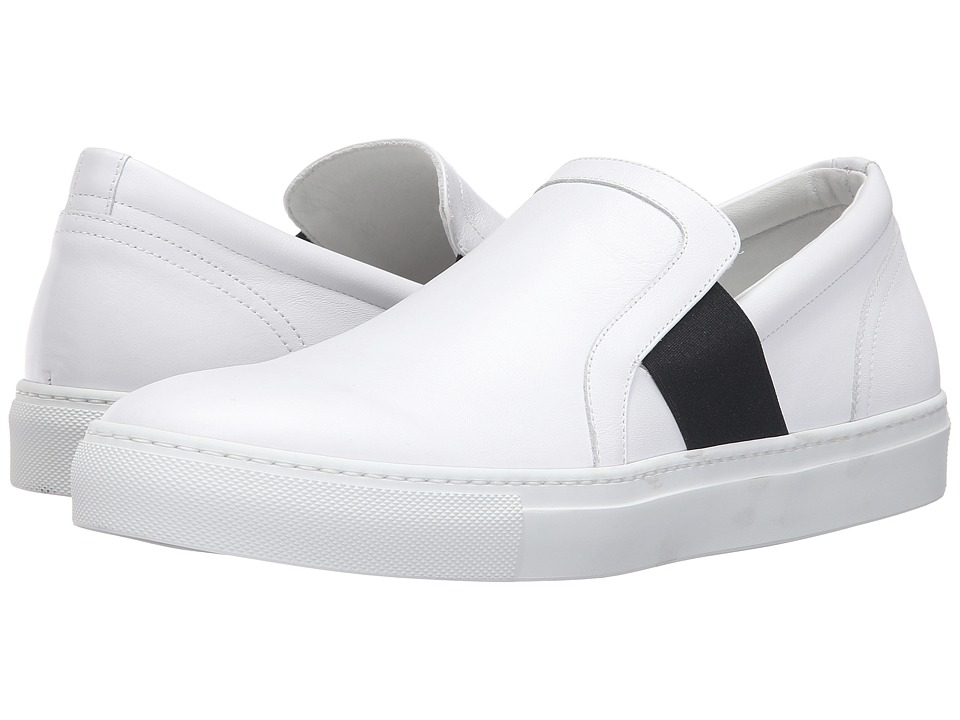 Gold & Gravy - Ripper (White) Men's Slip on Shoes