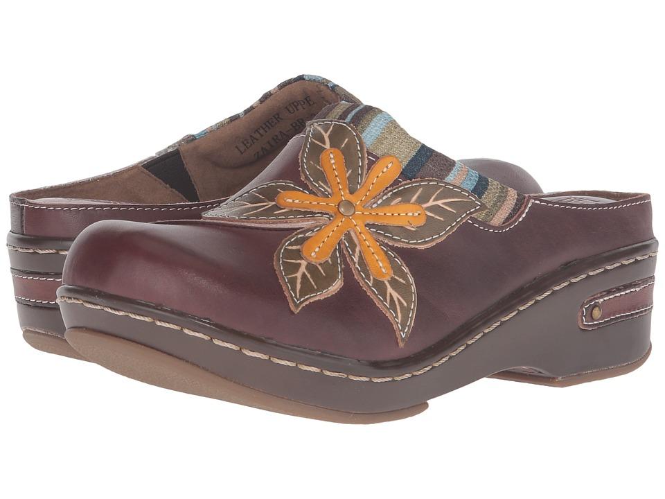 Spring Step - Zaira (Brown) Women's Clog/Mule Shoes