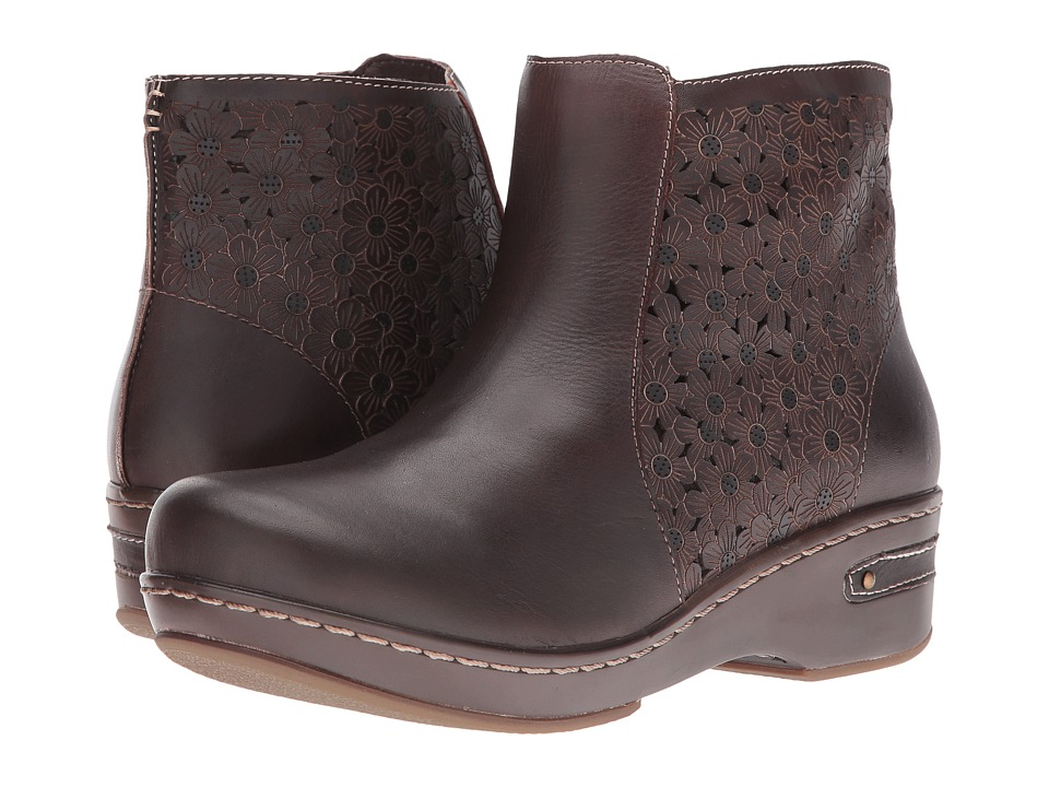 Spring Step - Lene (Dark Brown) Women's Pull-on Boots